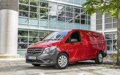 メルセデスベンツ、欧州で ヴィトー 新型を発表…新型 Vクラス に商用車 画像