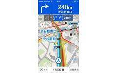 ヤフー、無料カーナビアプリを発表…渋滞情報や駐車場の満空、ガソリン価格情報にも対応 画像