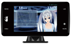 ユピテル、「霧島レイ」が安全運転をサポートするGPS&レーダー探知機を発売 画像