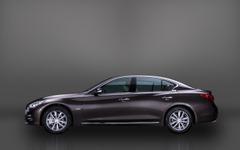 【成都モーターショー14】新型日産 スカイライン の海外版、インフィニティ Q50…中国専用のロングボディ 画像