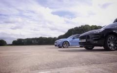 BMW M3 新型と ポルシェ マカンターボ…加速競争[動画] 画像