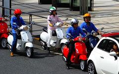 最新のベスパが東京を駆けた…眺めてよし、乗って楽しいイタリアンスクーター 画像