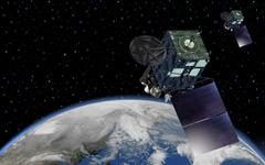 静止気象衛星「ひまわり8号」が完成…H-IIAロケットで10月7日打ち上げ 画像
