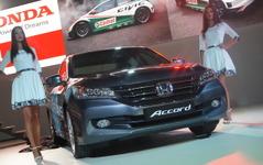 【モスクワモーターショー14】ホンダ アコード に次世代エンジン採用…カムリ 対抗 画像