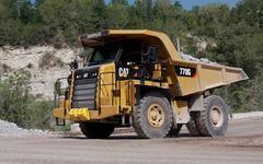 キャタピラー、ダンプトラック Cat 770/772 をフルモデルチェンジ 画像