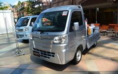 ダイハツ三井社長「軽トラックは新興国でも必ずニーズがある」 画像