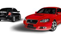 スバル レガシィ に Blitzen 2006モデルを設定、B4 追加 画像