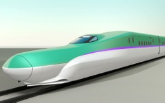 北海道新幹線H5系、函館車両基地搬入は10月中旬に 画像