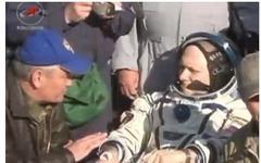 ISS第39次/第40次長期滞在クルーがTMA-12M宇宙船で無事着陸 画像