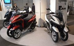 ヤマハ、3輪バイクトリシティの国内受注が5000台超…年内計画上方修正 画像