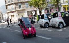 【トヨタ i-ROAD グルノーブル実証実験】10月よりスタート、友山茂樹常務役員「自動車の新しいあり方を創出」 画像