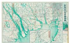 ゼンリン地図の資料館、昭和20年代のレジャーマップなどを特別展示 画像