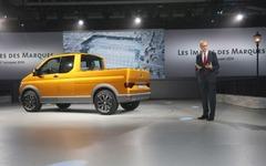 【パリモーターショー14】VW、トライスター 初公開…次期商用車の方向性を提示 画像