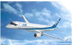 三菱 MRJ ロールアウト、ANAホールディングス伊東社長「世界から信頼され愛される航空機に」 画像