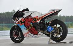 無限「神電 参」、TTレース最速記録を支えた四輪車なみのバッテリーパック 画像