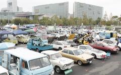お台場旧車天国2014、700台のクラシックカー&バイクが集結…11月23日 画像