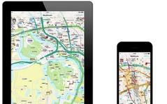 昭文社、業務用地図アプリ開発キット Mapple G-SDK for iOS を11月より発売 画像