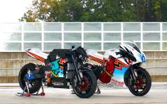 無限、電動バイク「神電 参」のメカニズム…トランスミッション不要の理由 画像