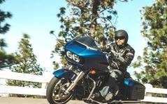 【ハーレー FLTRXS ロードグライドスペシャル 試乗】威圧感と裏腹、峠も軽快クルーズ…青木タカオ 画像
