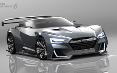 スバル、VIZIV GT ビジョン グランツーリスモ 発表…600psのPHVスポーツ 画像