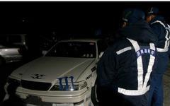 幕張PAと筑波山で深夜の街頭検査、28台に整備命令 画像