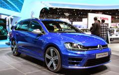 【ロサンゼルスモーターショー14】VW ゴルフ ヴァリアント 新型に300psの「R」…性能はハッチバックに匹敵 画像