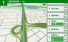 Yahoo!カーナビ、タブレット対応UIの提供開始…高速渋滞マップなど新機能も追加 画像