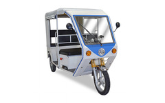 テラモーターズ、7人乗り電動三輪タクシー発表…2015年春よりアジアで販売 画像