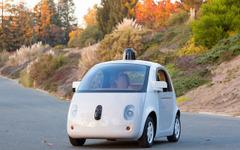 開発中のグーグル「自動運転カー」試作車が、完全自立走行可能に 画像