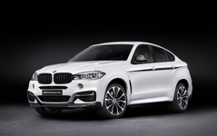 BMW X6 新型に、Mパフォーマンスパーツ…3.0直6ターボは326hpへ強化 画像