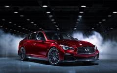 日産 GT-R のセダン版、市販化計画は中止か…インフィニティ Q50 オールージュ 画像