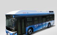 トヨタと日野、新開発の燃料電池バスを豊田市での営業運行向けに提供 画像