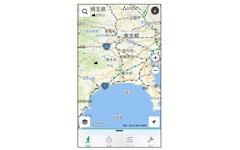 ナビタイム、iOS向けウォーキングアプリをアップデート…高低差地図の全国対応など 画像