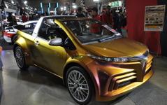 【東京オートサロン15】トヨタ/GAZOO Racing、スポーツカーからコンセプトカーまで「楽しさ」アピール 画像