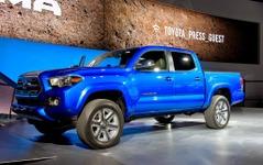 【デトロイトモーターショー15】トヨタ タコマ 新型、初公開…ベストセラー中型トラックが3世代目に 画像