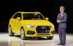 【デトロイトモーターショー15】アウディ の小型SUV、Q3 に改良新型…米国初公開 画像