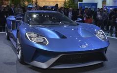 【デトロイトモーターショー15】フォード、NSX への牽制か…新型 GT のサプライズデビュー 画像