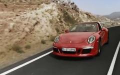 ポルシェ 911 タルガ4 に430psの「GTS」 …万能な 911[動画] 画像