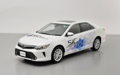 トヨタ、SiCパワー半導体搭載車両の公道走行を開始…燃費向上効果を検証 画像