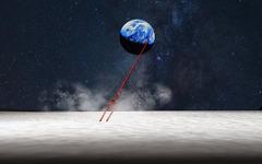 「エヴァ」20周年、ロンギヌスの槍を月に刺すプロジェクト始動 画像