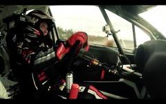 """【トヨタ WRC 復帰】""""モリゾウ""""豊田社長、WRカーを全開走行で試す[動画] 画像"""