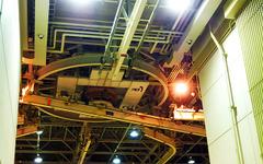 【JAL 整備の現場】意外と静かで淡々と…モノレールが走るエンジン整備センター[フォトレポート] 画像