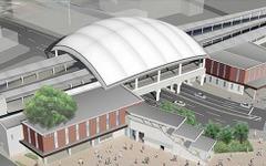 阪神甲子園駅、上り線ホーム2月21日に拡幅 画像