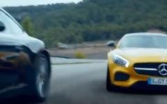 メルセデス-AMG GT のCM、ポルシェ 911 好き少年が見た悪夢[動画] 画像