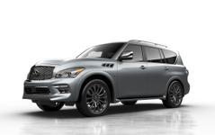 【シカゴモーターショー15】インフィニティ の最上級SUV、QX80 …限定車の リミテッド 初公開へ 画像