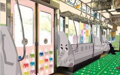 京王「TamazooTrain」がリニューアル…3月22日から運行開始 画像
