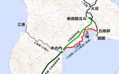 JR北海道、江差線五稜郭~木古内間の廃止を届出…三セクに移管 画像