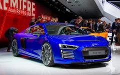 【ジュネーブモーターショー15】アウディ R8 新型にEVスポーツ…最高速は250km/h 画像