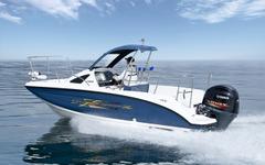 ヤマハ、高級フィッシングボート「SR-XX」を限定販売…F165Aを搭載 画像