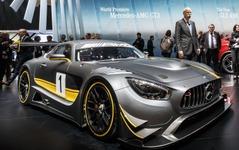 【ジュネーブモーターショー15】メルセデス-AMG GT にレーサー「GT3」…市販車と異なる6.2リットルV8搭載 画像